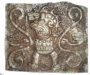 A Chavin carving