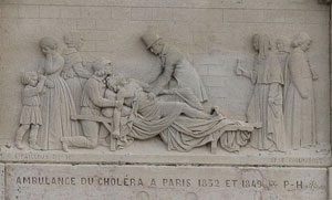 Cholera in Paris (1832 AD) - the Jesuits worked to cure people
