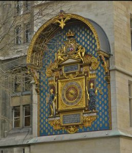 Conciergerie clock (1370 AD)