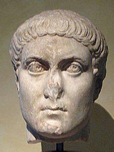 The Roman emperor Constantius II, son of Constantine