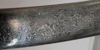 Damascus steel sword from the 1200s AD