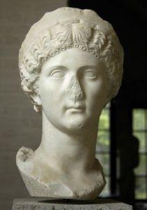 Drusilla, sister of Caligula? Marble. Munich, Glyptotek.