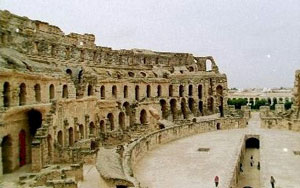Another view of El Djem amphitheater