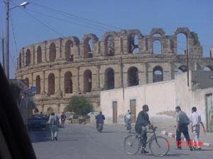 Roman amphitheater (El Jem, Tunisia)
