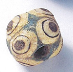 "Glass ""eye bead"" imported to China (ca. 100 BC)"