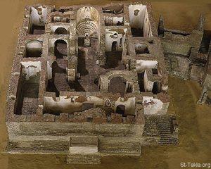 Faras Cathedral in northern Sudan (700s AD)