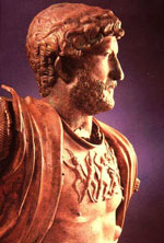 The Roman emperor Hadrian