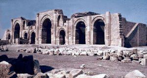 Parthian temple ofMithra, at Hatra (Iraq) 200 BC