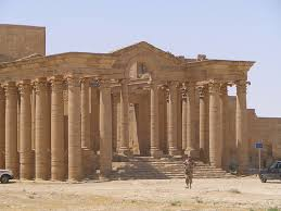 Parthian temple at Hatra, in Iraq