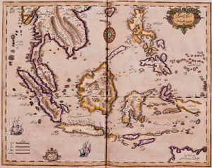Ibrahim Mutafferika's map of the Indian Ocean (1728 AD)