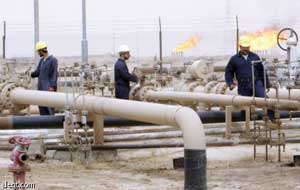 Iraqi oil production (2000s AD)