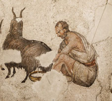 A Roman shepherd, probably a slave (Istanbul, 500s AD)