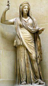 The Roman goddess Juno