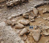 Tel Kabri, a Canaanite palace ca. 1600 BC