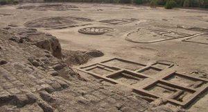 Royal buildings at Kerma (modern Sudan), ca. 1750 BC
