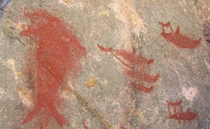 Chango whale hunt, El Madano, ca. 1000 AD