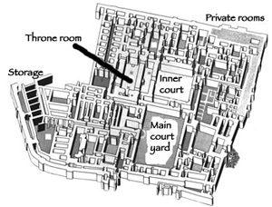 King's palace (Mari, ca.1800 BC)- Sumerian architecture