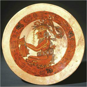 Maya Corn King on a plate