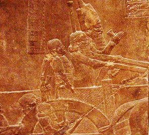 The Assyrian king