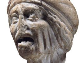 Roman woman, about 50 ADThe sculptor has made her look silly on purpose to make fun of old women