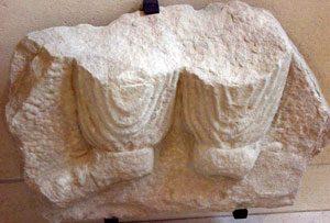 Pants on a Parthian man (Iran, about100 AD)