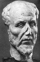 Bust of Plotinus (Ostia, ca. 250 AD)