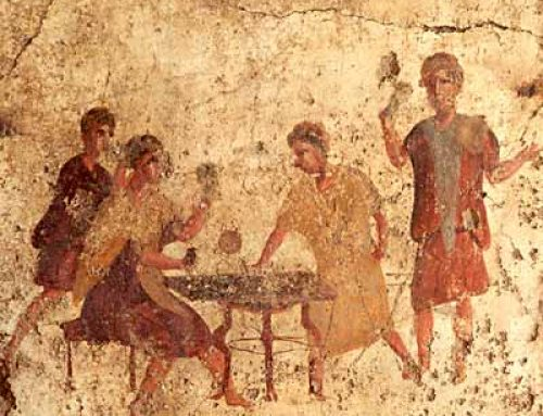 What games did Roman people play? Ancient Rome