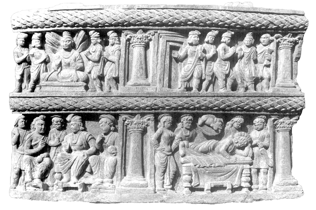Relief from Saidu Sharif I, in the Swat Valley. Now in the Swat Museum, Pakistan.