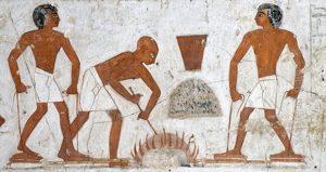 (Tomb of Rekhmire, Egypt, ca. 1450 BC)