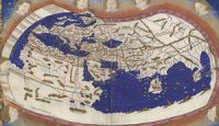 A copy of Ptolemy's map of the world