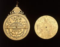 A Safavid astrolabe from the 1600s AD