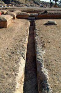 Sewage drain at Persepolis (ca. 500 BC)