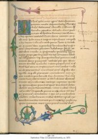 A manuscript of Suetonius' Lives of the Caesars, copied out in Austria in the 1470s