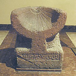Sundial from the Arabian Peninsula (ca. 50 BC)