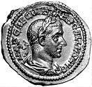 The Roman emperor Trebonianus Gallus