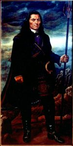 Tupac Amaru II, the revolutionary leader of Peru
