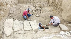 A sewer from ancient Urartu (800s BC, now in eastern Turkey)