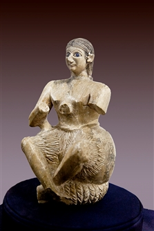 Ur-Nanshe, the king's chief musician in Mari, 2400s BC - a Semitic man
