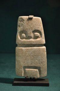 Valdivian carving, ca. 3500-2000 BC
