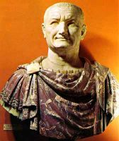 Vespasian, the last of the four emperors of 69 AD - and the one who lived.