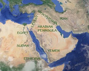 Map of West Asia