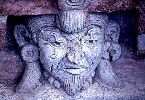 A Zapotec head
