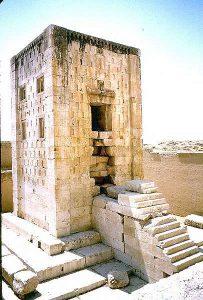 A Zoroastrian temple