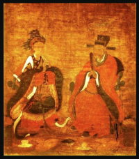 King Gongmin and Queen Noguk (Korea, 1300s AD)