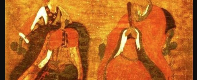King Gongmin and Queen Noguk (Korea, 1300s AD)