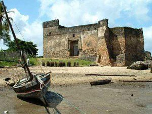 The fortress of Kilwa (East Africa, ca. 1320 AD)