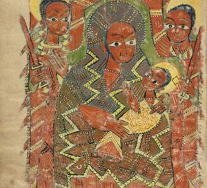 Mary and Jesus, from Ethiopia (ca. 1500 AD) (Now in the J. Paul Getty Museum)