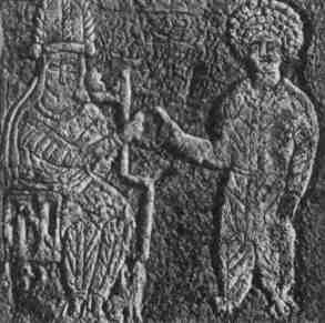 The last Arsacid king of the Parthian Empire, Artabanus V, meets with his satrap Khwasak at Susa.